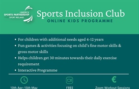 Free 6 Week Sports Inclusion Club programmes