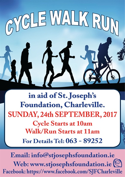 Cycle Walk Run - Sunday, September 24th. 2017