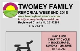 Twomey Family Remorial Weekend.